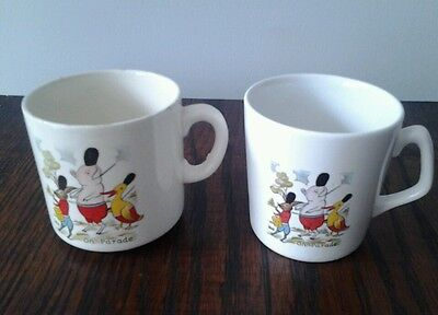 Vintage Child's pottery cups