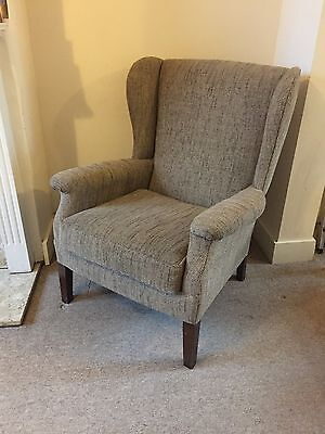 Wing Back Chair - Beautiful and amazingly comfortable!