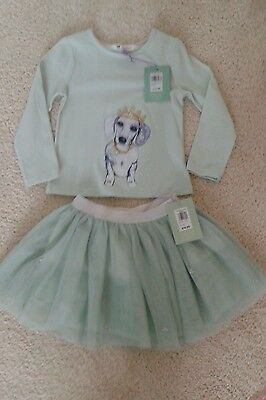 BNWT john lewis Girls age 3 top and tutu skirt bundle Xmas gift? Party