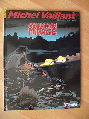 Michel Vaillant T64 - Operation mirage - couverture alternative - rare !!