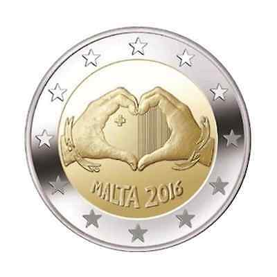 2 euro commémorative Malte 2016 – Amour / Love