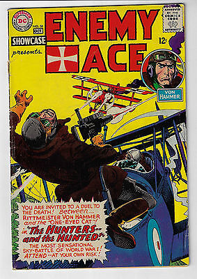 Showcase Presents Enemy Ace #58 DC Comics Silver Age 1965 Joe Kubert