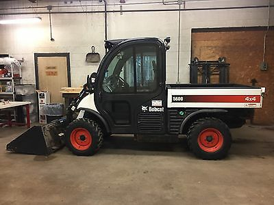 2012 Bobcat 5600 Toolcat 4X4 Diesel Utility Vehicle With 213 Hours