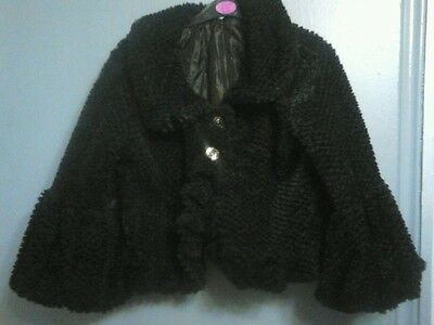 Girls Black Jacket size 12yrs