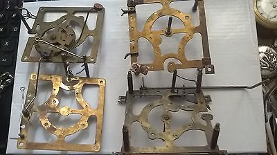 Vintage Cuckoo Clock Plates And Parts Spares / Repairs