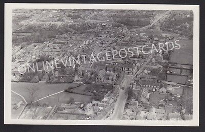 Yorkshire Thirsk Super Aerial View Real Photo