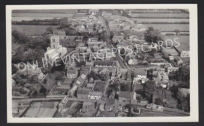 Yorkshire Hatfield Super Aerial View Real Photo