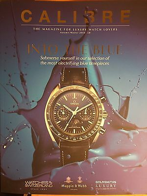 Calibre Magazine For Luxury Watch Lovers