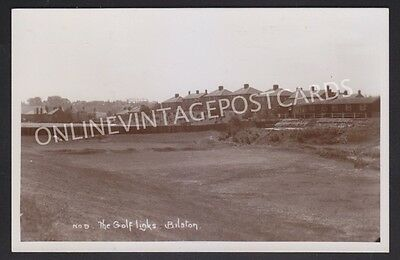 Staffordshire The Golf Links Bilston Super Real Photo