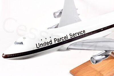 PACMIN - Pacific Miniatures UPS Boeing 747 Aircraft Model 1/100 Collectible Gift