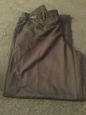 Greg Norman Golf Men's Trousers  38RBlack Great Colour