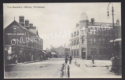 Nottinghamshire The Brewery Offices Nottingham