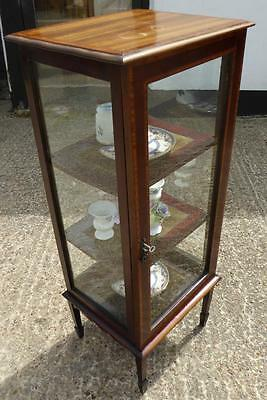 Small Edwardian Display Cabinet