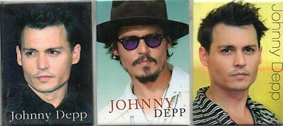 Johnny Depp - Fridge Magnets - New and Sealed - 3 Different - Ideal Present