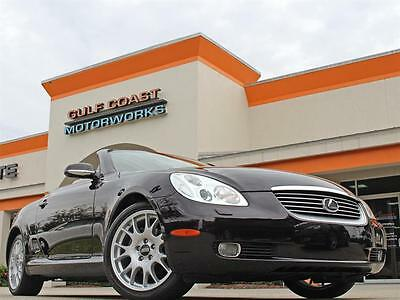 2003 Lexus SC Base Convertible 2-Door 2003 Lexus SC 430 Twilight Amethyst Pearl 40k miles