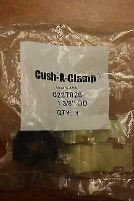 """(Lot of 10) CUSH-A-CLAMP #022T026 1-3/8"""" CLAMPS"""