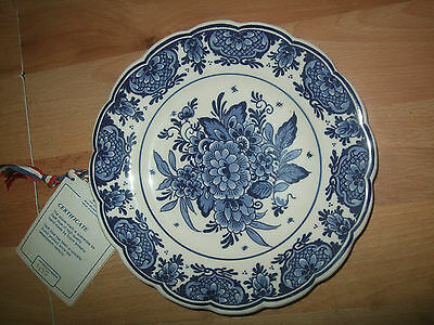 Delfts plate, Delft hand-decorated plate, Made in Holland