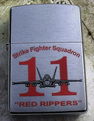 2007 11th STRIKE FIGHTER SQUADRON  DOUBLE SIDED NEW ZIPPO