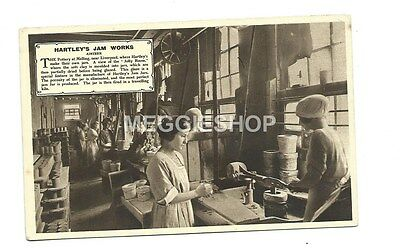 Liverpool : Aintree: Hartley's Jam Factory Old Postcard