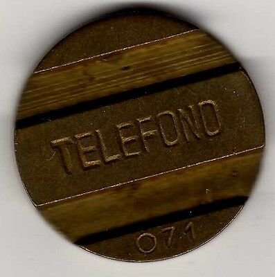 Argentina telephone tokens: 5 total