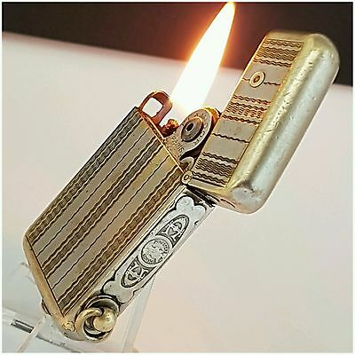 Briquet * FLAMIDOR NEC PLUS ULTRA * Petrol Lighter-Feuerzeug-Accendino-RARE++