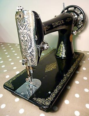 Vintage Singer 66 Sewing Machine 1933. Head only (For Treadle)