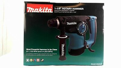 "MAKITA 1/1/8"" Rotary Hammer HR2811FX and Case NEW OPEN BOX"