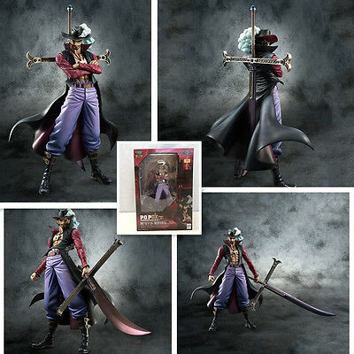 HOT One piece:Dracule Mihawk KENGOU Action figures toy doll Christmas gifts