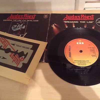 Judas Priest - Breaking The Law - Limited Edition Gatefold Sleeve