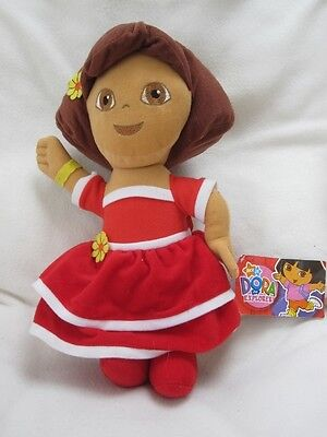 """Dora The Explorer Large 15"""" Plush Soft Toy Doll With Tag"""