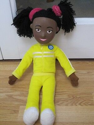 "Josie Jump Large 19"" Balamory Soft Toy Doll Figure With Bendy Limbs"