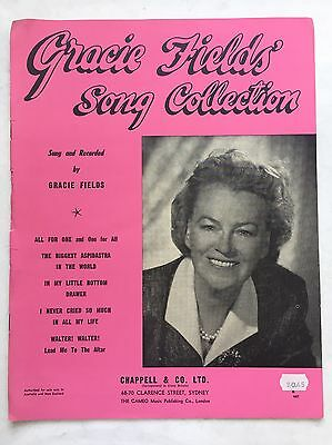 """Gracie Fields Song Collection """"In My Little Bottom Drawer"""" plus more Sheet Music"""