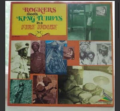 Augustus Pablo Rockers All Stars Meets King Tubbys In A Fire House LP Vinyl 1980