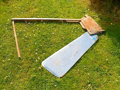 Rudder From Skipper Dinghy  Dingy Boat Sailing