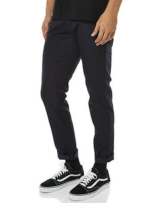 New Carhartt Men's Sid Mens Pant Cotton Fitted Mens Trousers Blue