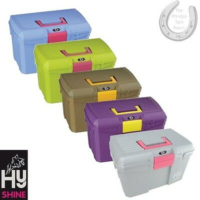 HySHINE Limited Edition Tack Box – Mounting Step/Carry Grooming Kit – FREE P&P