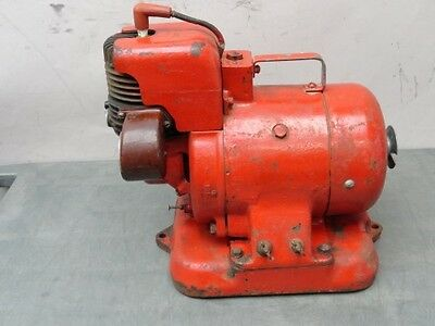 Vintage stationary gas engine battery charger generator