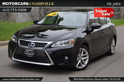 2014 Lexus CT 200h 5dr Sedan Hybrid 2014 CT200H HYBRID 44+MPG FACTORY WARRANTY CARFAX CERTIFIED 1-OWNER