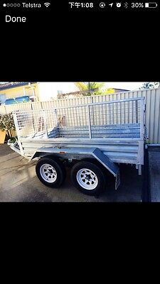 8x5 Caged Box Trailer - FOR HIRE!