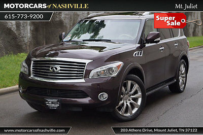 2013 Infiniti QX56 4WD 4dr 2013 INFINITI QX56 FULLY LOADED! DELUXE TOURING WITH TECH PKG! REAR DVD! NAV