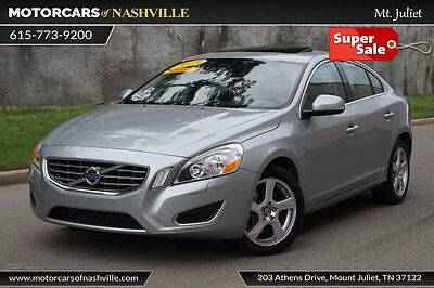 2013 Volvo S60 T5 '13 VOLVO S60 T5 LIKE NEW SUNROOF HEATED LEATHER WARRANTY CARFAX 1-OWNER