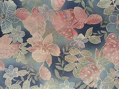 """6 sheets EXCLUSIVE Decoupatch printed floral acid free tissue paper 20""""x30"""""""