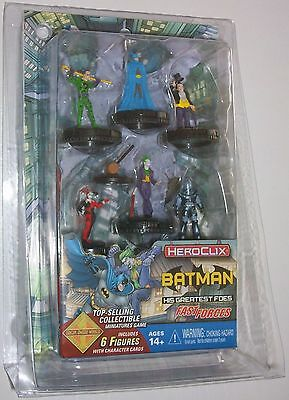 DC Heroclix The Joker's Wild! - Batman His Greatest Foes Fast Forces Set