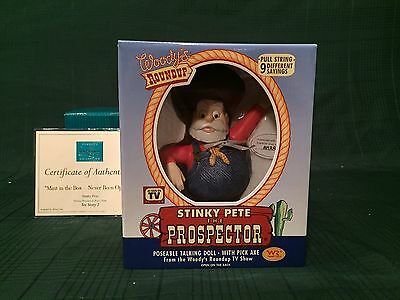 """WDCC Toy Story2 - Stinky Pete """"Mint in the Box-Never Been Opened"""" New in Box"""