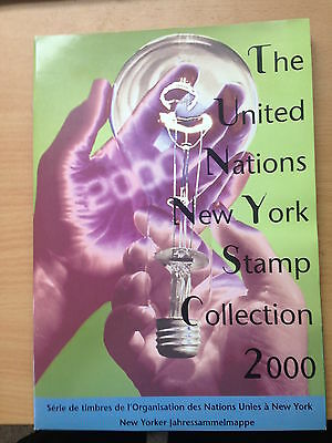United Nations 2000 New York Stamp Collection Yearbook