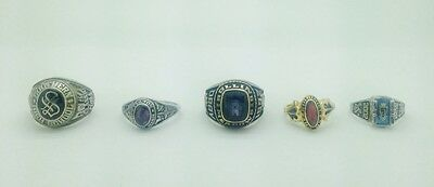 High School Class Ring (LOT OF 5)