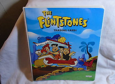 The Flintstones Trading Cards Set Complete With Binder With All Holograms Etc. *
