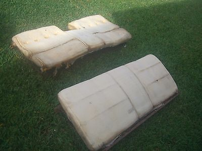 1970 Cadillac Deville Convertible Rear Seat With Foam 1969 Suitable