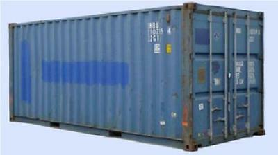 Cargo Worthy 20FT Shipping Container Ex Melbourne