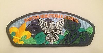 Boston Minuteman Council SA41 Eagle Scout Massachusetts CSP Scouts of America